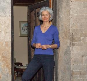 Rosie at doorway